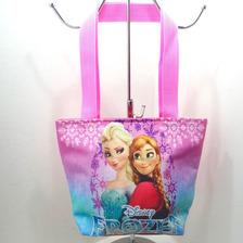 Bolso Cartera 20x20 Frozen Masha El Oso Descendientes Disney