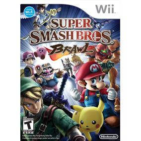 Juego Físico Super Smash Bros Brawl Para Nintendo Wii