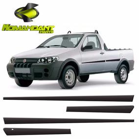 Friso Lateral Fiat Pick-up Strada 2005/... Modelo Original