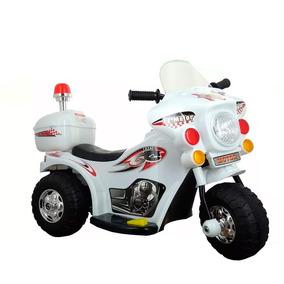 Mini Moto Elétrica A Bateria Infantil Luz E Som Varias Cores
