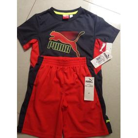 Conjunto Infantil Puma - 4 Anos - Original!!