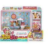Twozies 2 Bebes 2 Mascotas Ice Cream Cart Carro De Helados