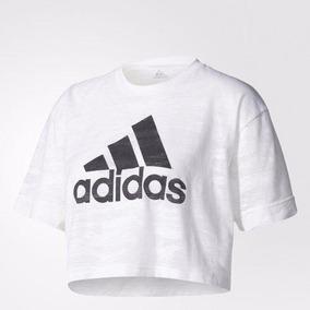 80cdca743bb Peru Adidas - Camisetas e Blusas Manga Curta para Feminino no ...