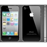 Iphone 4, Black, 32 Gb, Modelo A1332 + Variados Accesorios.