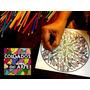 Kit 30 Mandalas Y/o Dibujos En Madera Para Pintar - Terapia