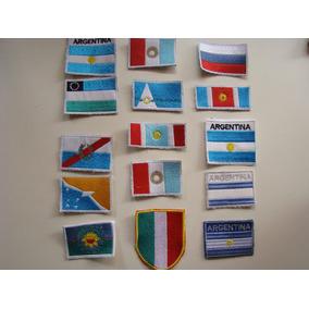 Parches Banderas Bordadas Provincias Y Paises