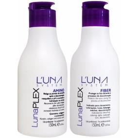Kit Luna Plex Fiber E Amino Protege Enquanto Descolore
