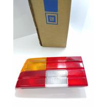 Lanternas Traseiras Monza 83 A 90 Tricolor Esquerdo Original