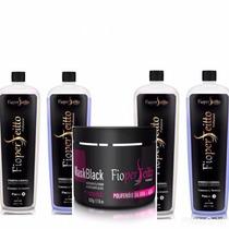 2 Kit Semi Definitiva Fioperfeitto + Mascara Black 500g