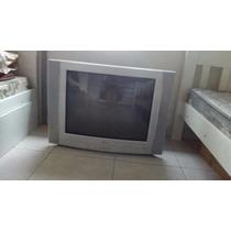 Televisão Tv 29 Polegadas Lg Funcionando Perfeitamente Prata