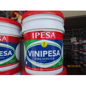Pintura Vinilica Vinipesa Ipesa 19l 8 Años Mate