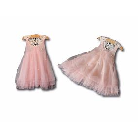 Vestido Bebé 6-9 Meses Pajecita Fiesta Con Envío Gratis