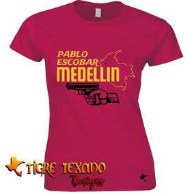 Playera Series Tv Pablo Escobar Mod. 06 Tigre Texano Designs