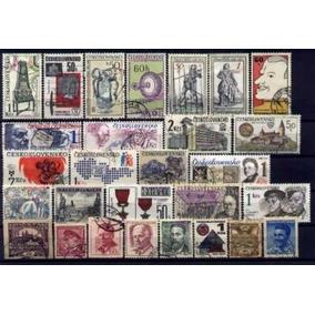 0303 Tchecoslovaquia - 60 Selos Diferentes