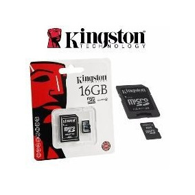 Memoria Micro Sd 16gb Card Kingston Equiprog