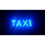 Aviso Taxi Luces Led Marca Federal