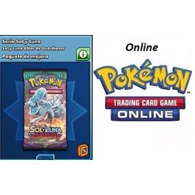 Códigos Booster Pokémon Tcg Online-sol E Lua Guardiões