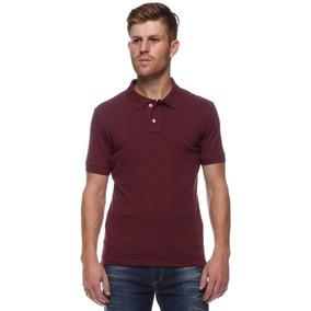 5f3d1baf1c Camisa Masculina - Vinho - - Camisa Pólo Manga Curta Masculinas no ...