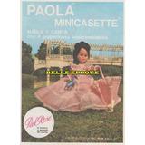 Antigua Publicidad Muñeca Paola De Piel Rose