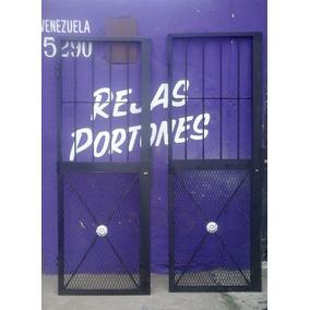Puertas Rejas De Malla Reforzadas A Medida-.