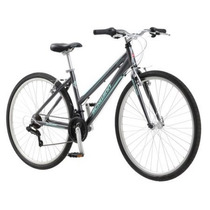 Bicicleta Urbana Hibrida De Aluminio Schwinn Pathway Mujer