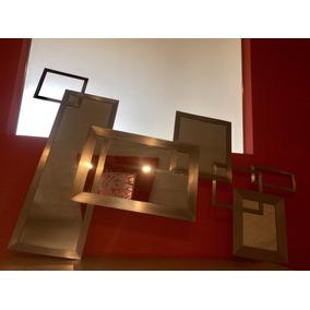 Espejo De Diseño Acero Inoxidable
