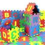 36pcs Espuma Suave Bebé Niños Alfabeto Número Juego Tapetes