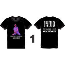 Remera Indio Solari - Olavarria 11 Marzo 2017