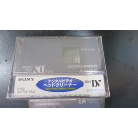 Cassette Mini Dv Limpiador