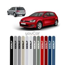 Friso Pintado Para Volkswagen Golf Vermelho Tornado