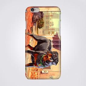 Funda Para Celular Iphone Galaxy Gta Dog San Andreas