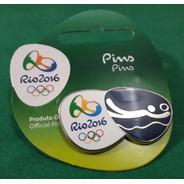 Pin Olímpico - Rio 2016 - Vôlei De Praia - Memorabilia