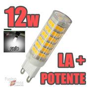 Lampara Bipin Led G9 12w 220v Luz Cálida Fria La Más Potente