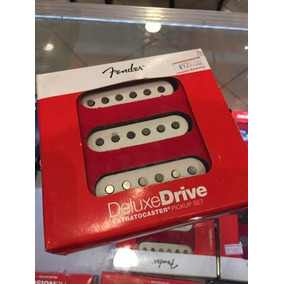 Set Captadores Fender Deluxe Drive Stratocaster Black Friday