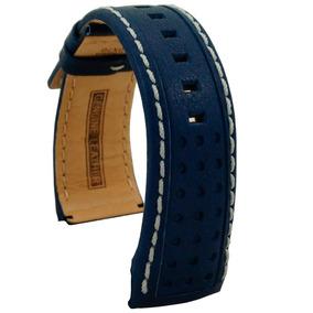 Bomberg Correa Piel Azul Bolt-68 45mm Sin Hebill Diego Vez