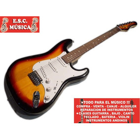 Guit Stratocaster Ranger Std No Squier! Canje Envio Tarj!