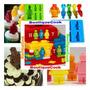 Molde Lego Silicona Reposteria, Torta, Cupcake.