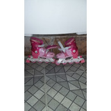 Patins Infantil Hello Kitty