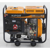 Generador Trifasico Diesel Kde-6500e3- Kipor