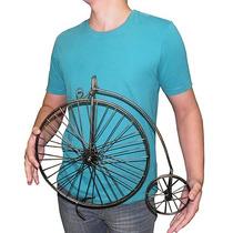 Enfeite De Ferro Para Decoraçao Bicicleta Casa Jardim Mesa