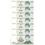 7 Billetes Mil Pesos Series Nf 4395904/05/06/07/08/09/10