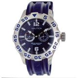 Reloj Nautica Rubber Mens N16601g Original