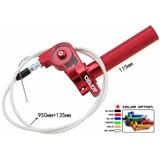 Acelerador Rapido Aluminio + Cable Con Regulador