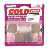 Pastilhas Freio Goldfren S3 304 Bmw S1000rr S1000r S 1000 Rr