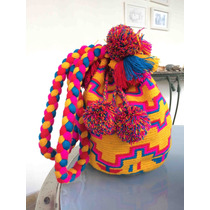 Bolsa Wayuu Amarela