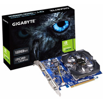 Placa De Vídeo 2gb Gt420 Ddr3 128 Bits Gigabyte 2 Monitores