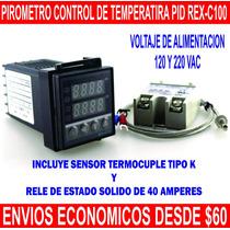 Control De Temperatura Industrial