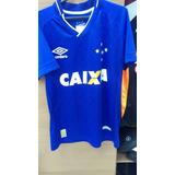 Camisa Da Umbro Cruzeiro Com Número Nas Costas !