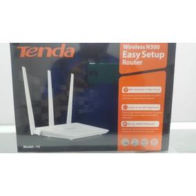 Router Inalambrico Wifi Marca Tenda 300 Mbps Tres Antenas F3