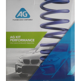 Resortes Ag Kit Performance Vw Jetta A4 2.0l 1.8t 1999-2013